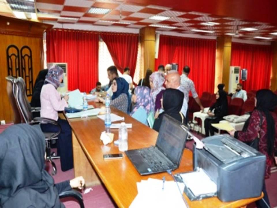 إستمرار استقبال وتسجيل الطلبة الجدد في كلية اللغات